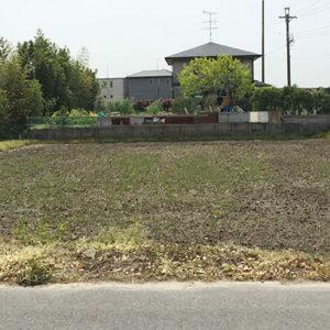 愛知県あま市の田畑